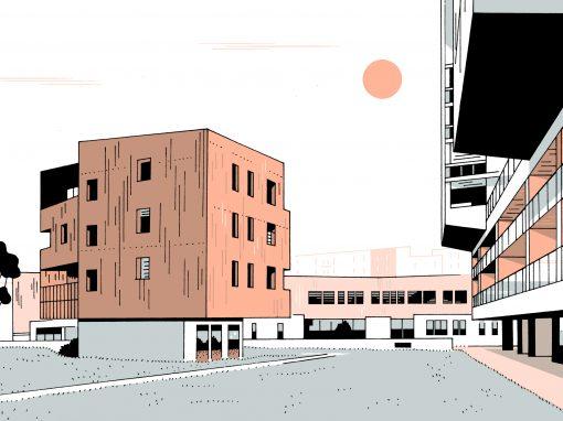 CONSTRUCTION DE 48 LOGEMENTS LOCATIFS SOCIAUX à Nantes (44)