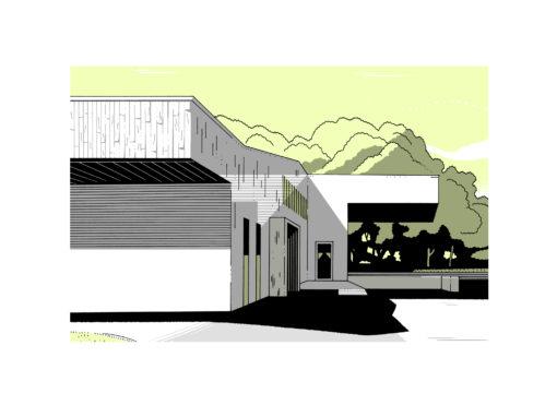 UNITÉ DE PRODUCTION CULINAIRE  AU CROISIC — HÔPITAL LOCAL DE LA PRESQU'ÎLE GUÉRANDAISE — 2009