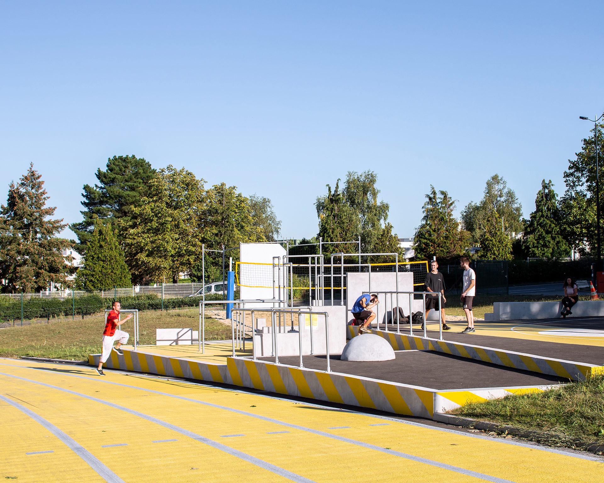 La Centrale, agencement modulaire par Bigre! architecture, Nantes